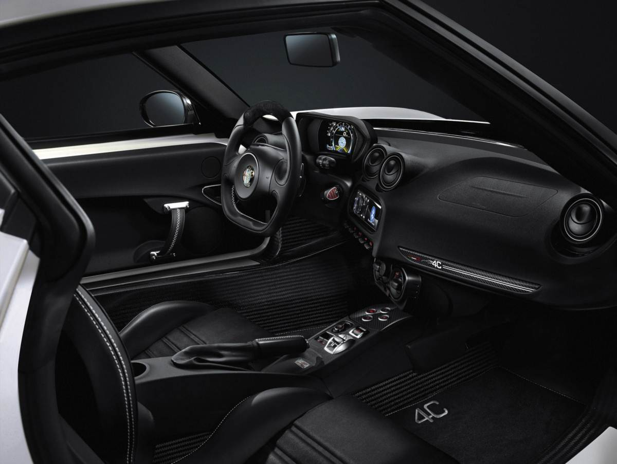 Alfa Romeo 4C Launch Edition- interior