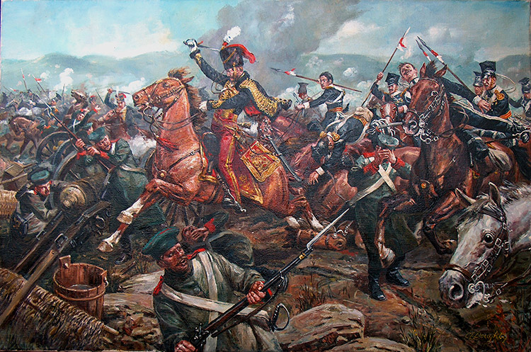 charge of the light brigade by richard caton woodville jr