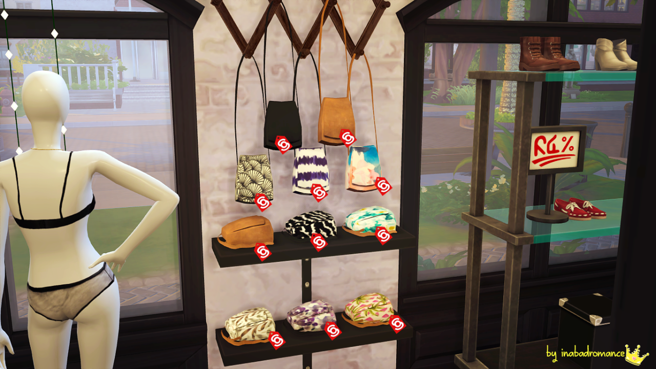 My sims 4 blog sling bag accessory by inabadromance for Deco appartement sims 4