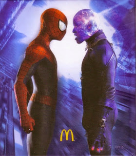Back cover of McDonald's The Amazing Spider-Man 3 #8: Activity Book