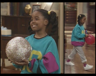 The Cosby Show Huxtable fashion blog Keshia Knight Pulliam Rudy