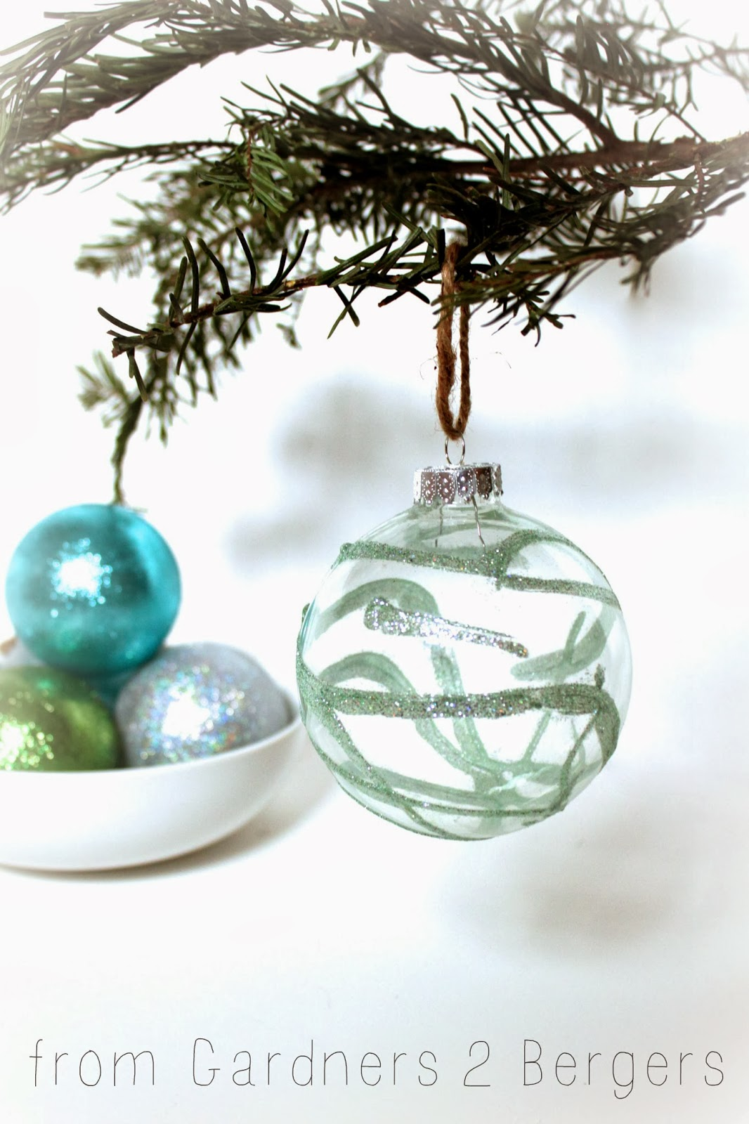 Glue for glass ornaments - I Hope You Have A Chance To Create Your Own Glass Glitter Ornaments It S A Fun And Easy Project With A Whole Lot Of Shine You Can See Them On My Tree