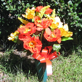 Buy Autumn Cemetery Flowers