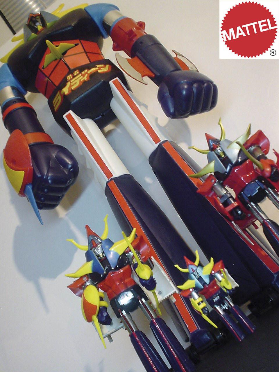 MODELKIT WORKSHOP Shogun Warriors 24 Mattel Popy Jumbo