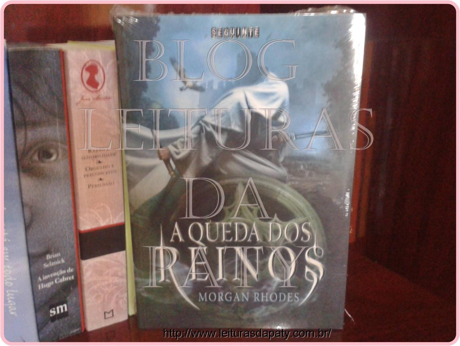 A Queda dos Reinos - Morgan Rhodes - Blog Leituras da Paty