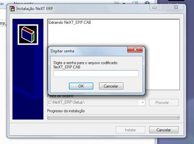 NeXT ERP Setup