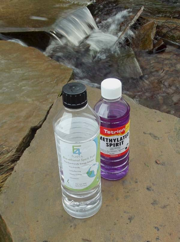 how to use methylated spirits burner