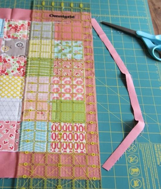 Binding a quilt with the quilt back | Cluck Cluck Sew : binding a quilt for beginners - Adamdwight.com