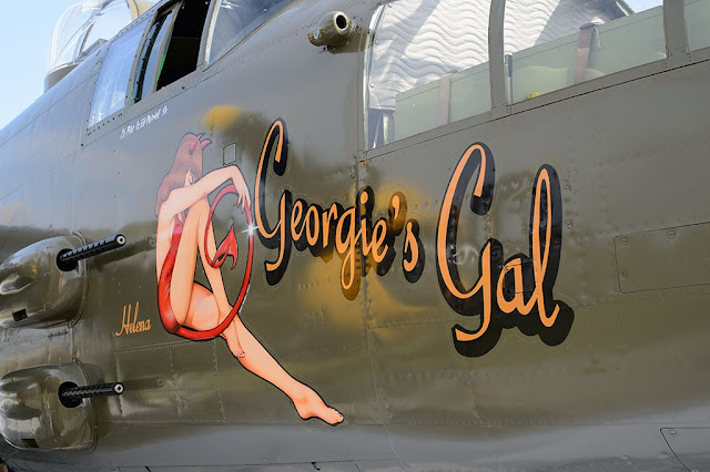 "Georgie's Gal ""Helena"" nose art"