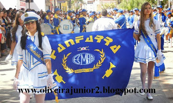 DESFILE JANAÚBA 2013 ESCOLA MAURÍCIO AUGUSTO AZEVEDO FANFARRA