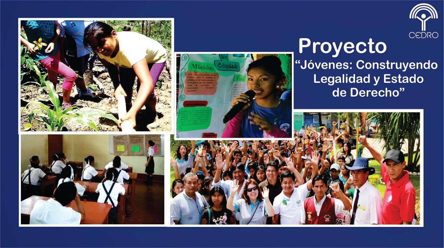Jóvenes Construyendo Legalidad y Estado de Derecho
