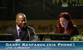Echecs aux USA : Kasparov invité via Skype