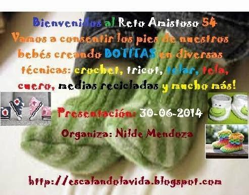 Reto Amistoso Nº 54 - A crear botitas...!!!!