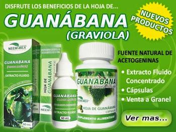 Guanabana extracto $280.00 pesos