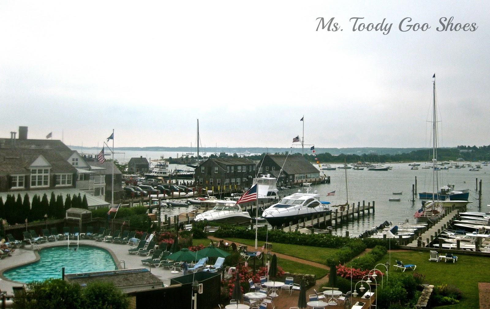 Best Hotel Room Views  --- Ms. Toody Goo Shoes