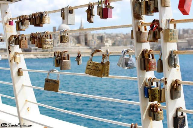 Cadeados do amor em Malta