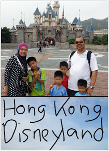 PERCUTIAN KE HONG KONG DISNEYLAND :