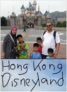 PERCUTIAN KE HONG KONG DISNEYLAND :