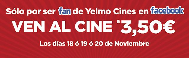 Promoción Yelmo Cines