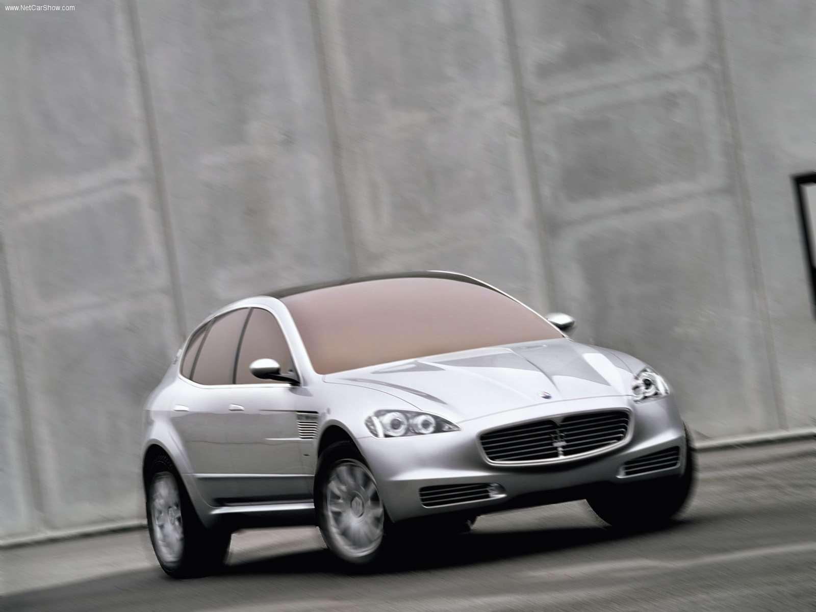 Hình ảnh siêu xe Maserati Kubang Concept Car 2003 & nội ngoại thất