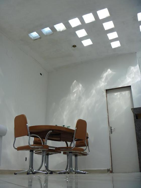 laje clara claridade vidro luz sol solar