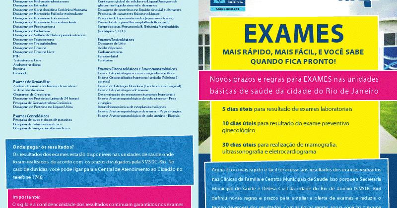 Exame preventivo resultado