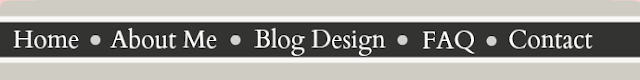 Blog Navigation Bar
