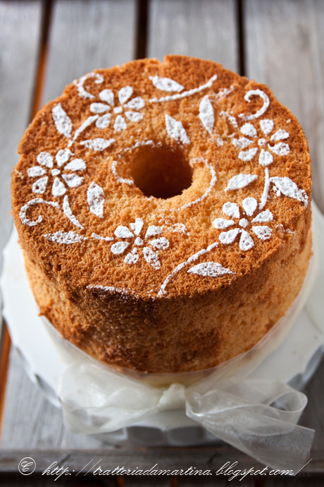 Chiffon cake.