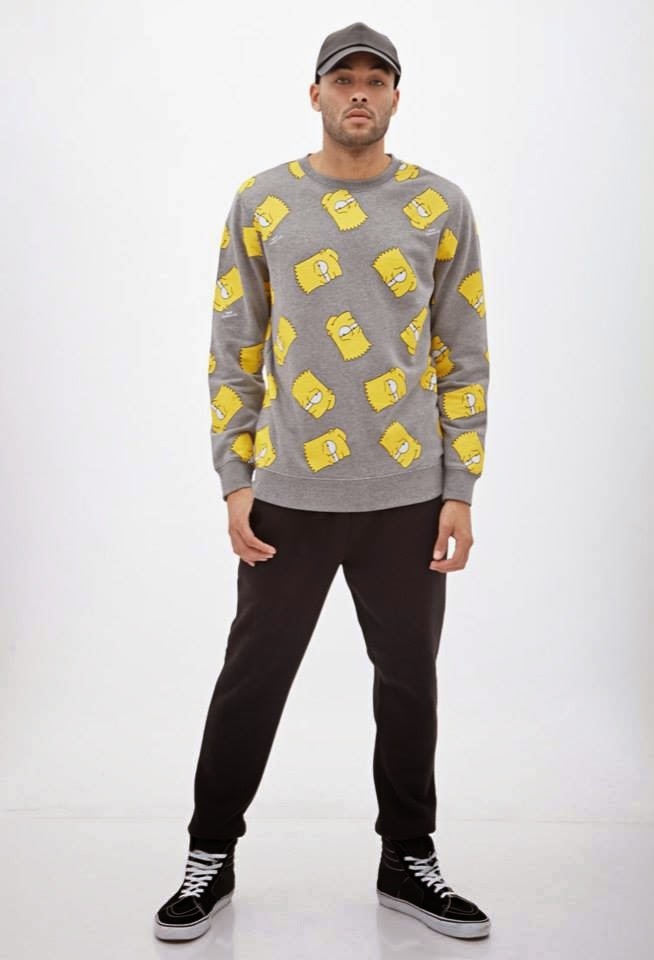 Forever 21 x The Simpsons Lookbook 2014
