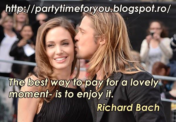 The best way to pay for a lovely moment- is to enjoy it.