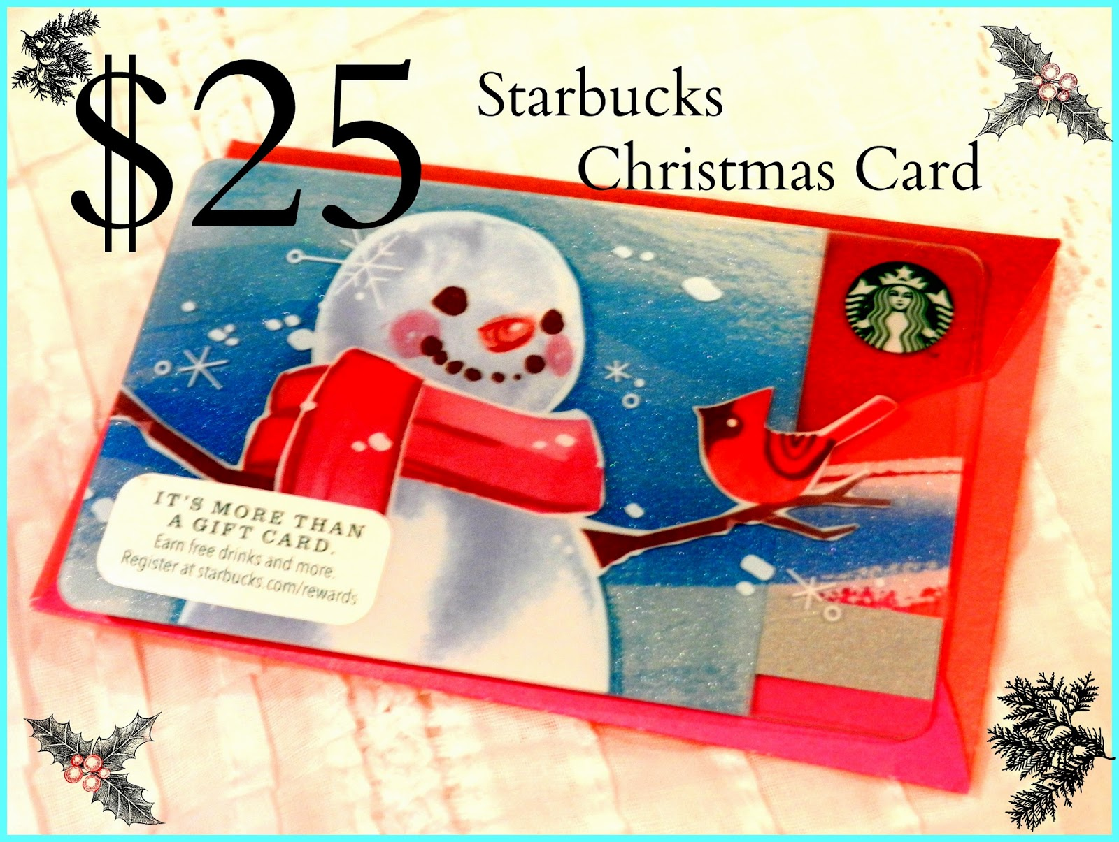 starbucks blog run giveaway