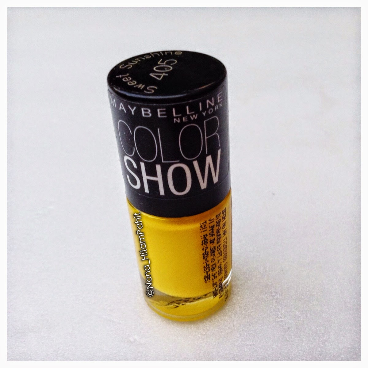 Maybelline Color Show Sweet sunshine, nail polish