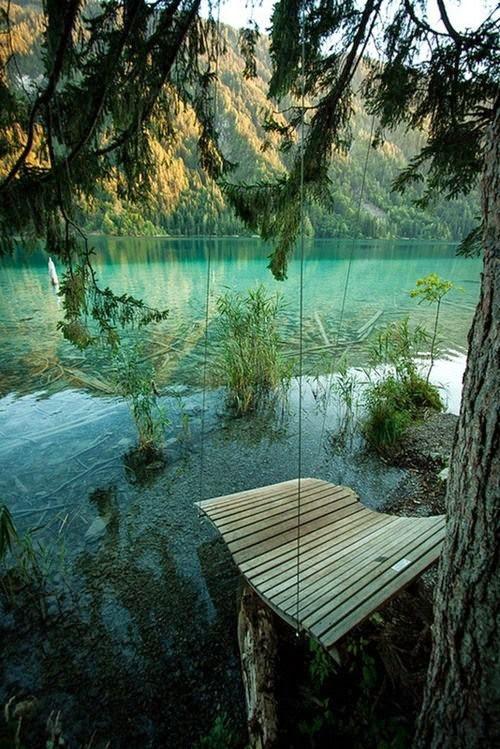 Lake Swing, Wiessensee, Germany