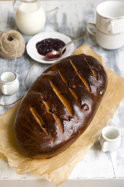 Chleb z rodzynkami przepis