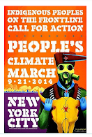 Indigenous at Climate March and World Conference