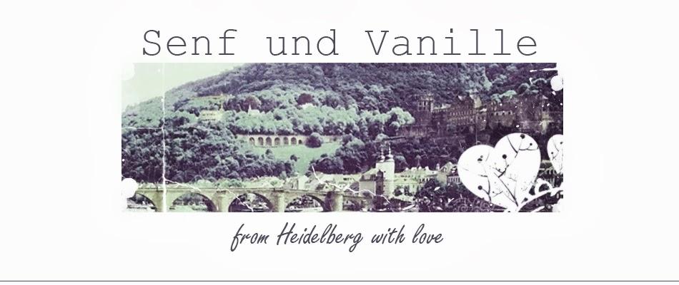 senf  und vanille