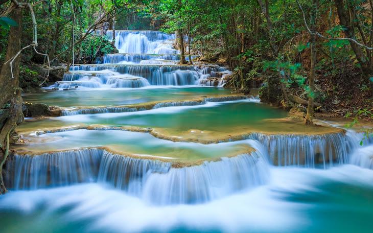 Waterfall Kanchanaburi