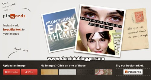 Agregale mensajes o frases a tus imágenes con Pinwords