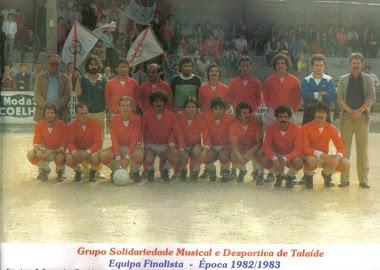 Talaíde Equipa Finalista 1982/1983