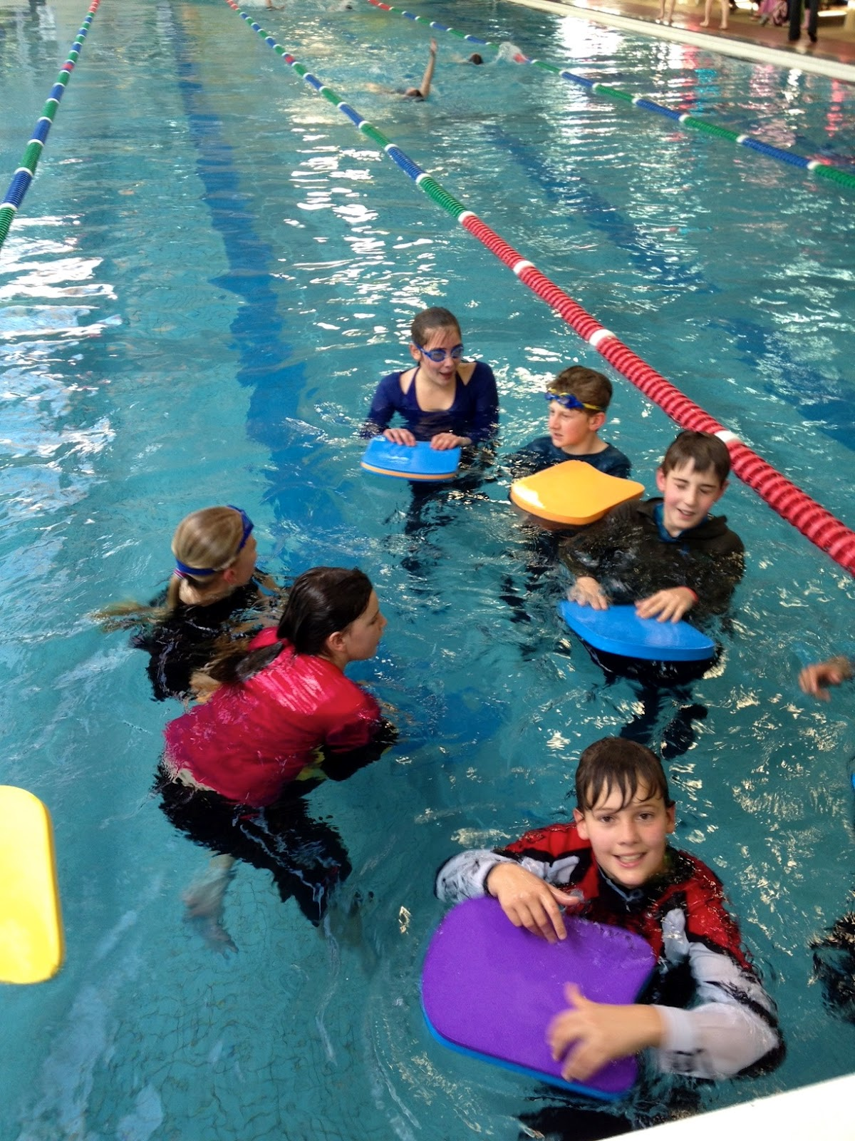 2014 Room 6 Koputaroa Survival Swimming