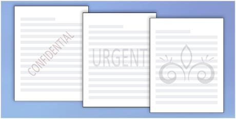 Office tips Mẹo thêm, xóa bỏ watermark đóng dấu trong Word 2003 2007 2010 2013