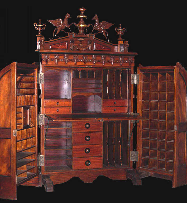 the wooten patent desk steampunk inspirations. Black Bedroom Furniture Sets. Home Design Ideas