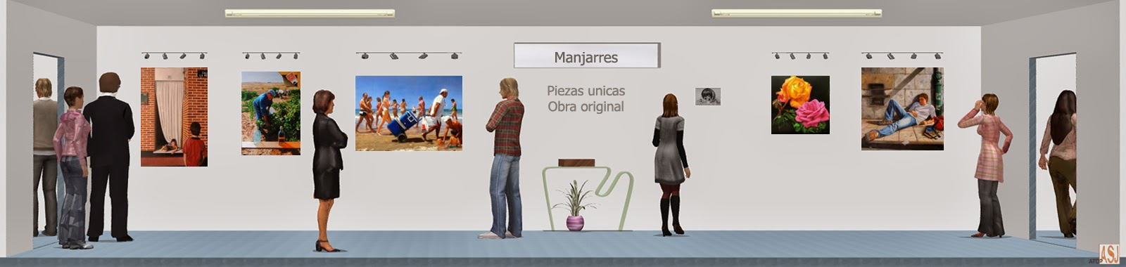 "<img src=""http://1.bp.blogspot.com/-twGeZa21mv0/U33R5jveuZI/AAAAAAAAYyo/GyCCQvzTpFc/s1600/sala_de_exposicion_de_manjarres.jpg"" alt="" Sala de exposición virtual de pinturas y retratos de Manjarrés""/>"
