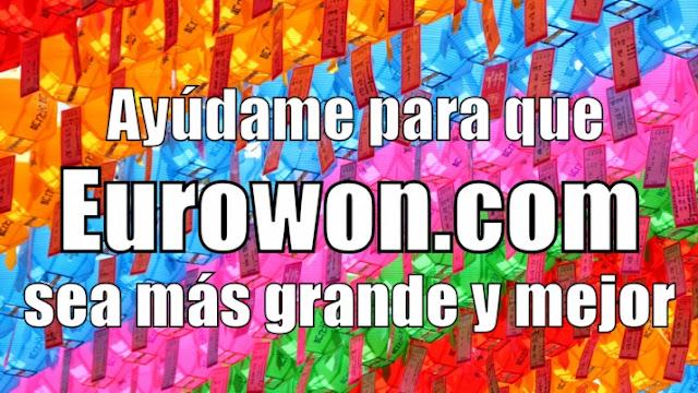 Campaña del blog Eurowon en Patreon