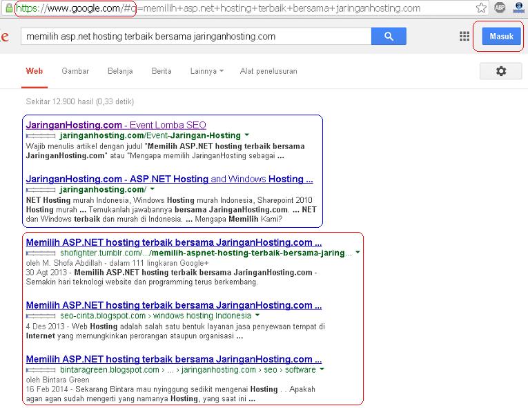 hasil pencarian google.com