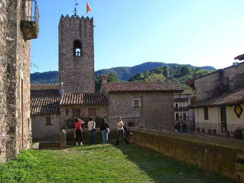 Santa Pau in Catalonia