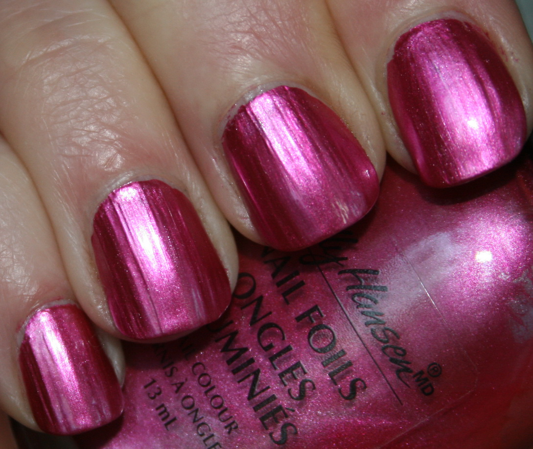 Pink Foil Is Wicked It A Hot Polish With Glowy Metallic Finish That Super Cool On The Nail This What All Polishes Should Look Like