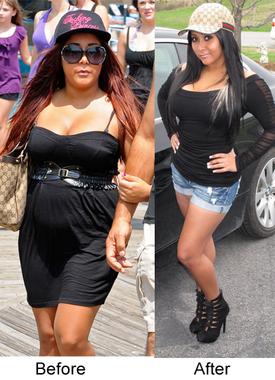 "The question is : ""How did Snooki lose weight ?"""
