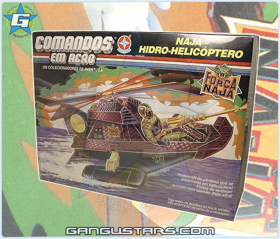 Força Naja Comandos em Ação Naja Hidro Helicóptero GIJoe Brazil Python Patrol Swampfire