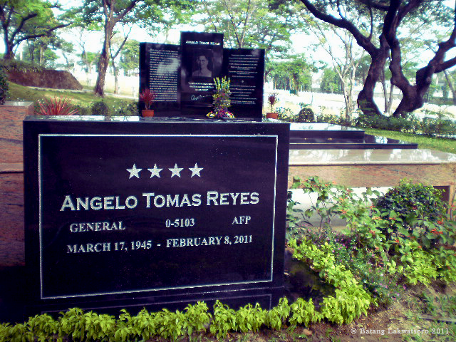 The controversial General Angelo Reyes, former AFP Chief, Cabinet